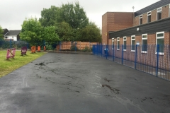 Staffordshire Tarmacing car park construction