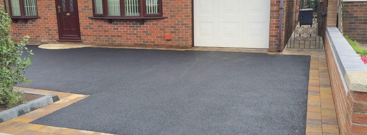 Tarmac driveways in Staffordshire