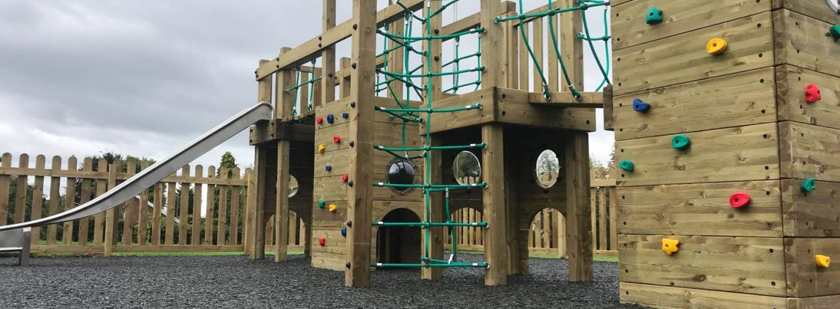 Playground surfaces in Staffordshire